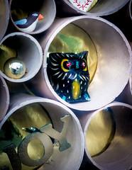 5/365 Owl Ornament - 365 Project 2 - 2016 (Helen) (dorsetbays) Tags: window shop decoration ornament dorset owl shopwindow 365 dorchester engalnd 2016 365project aphotoadayforayear second365project