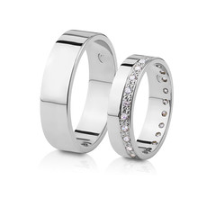 White gold wedding rings with diamonds retouching (JewelryRetouching.com) Tags: diamonds gold jewelry editing retouching weddingrings photoretouching jewelryretouching jewelryretouchingcom