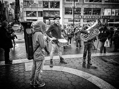 Pantless Sunday 08. (rockerlan) Tags: new york nyc people square photography photo downtown pants manhattan no union sunday olympus pantless em5