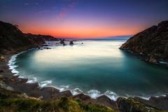 Playa del silencio (ALFONSO1979 ) Tags: longexposure travel sunset paisajes colors beautiful sunrise landscape amazing spain cantabrico playadelsilencio