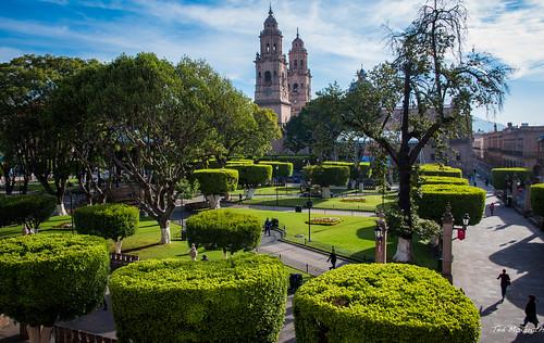 2015 - MEXICO - Morelia - Plaza de Armas