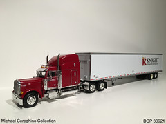 Diecast replica of Knight Transportation Peterbilt 379, DCP 30921 (Michael Cereghino (Avsfan118)) Tags: scale truck toy model die semi replica cast 164 knight peterbilt transporation promotions diecast dcp 379 30921