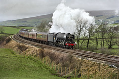 The Flying Scotsman, Eldroth, Clapham, North Yorkshire, 04/02/16 (John / Arc-Images) Tags: test flying yorkshire north run clapham scotsman carnforth 60103 eldroth