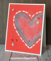 My Take on Distress Ink Lifting by Jennifer McGuire (clemsyn2007) Tags: valentines valentinescard timholtzdistressink jennifermcguire simonsaysstamp distressinklifting