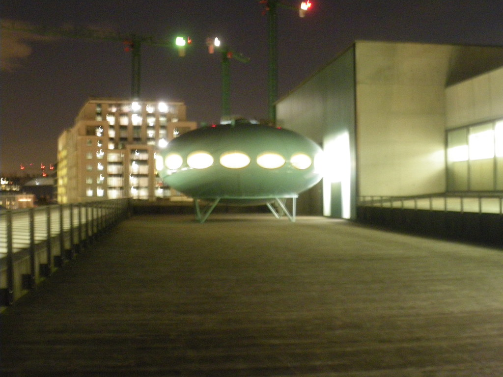 Futuro house from a distance wednesday 3rd february 2016 tishbriz tags futuro centralsaintmartins