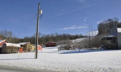 New Plymouth, Ohio (4 of 4) (Bob McGilvray Jr.) Tags: wood railroad ohio red train wooden tracks caboose cupola oh bo bb bedbreakfast newplymouth baltimoreohio