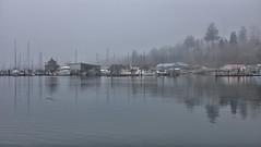 Winter Fog..... (Brian McAllister Photography) Tags: mist misty fog bay fuji harbour britishcolumbia westcoast cowichanbay horbour