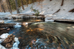 Momentum (Ray Palmer Photography) Tags: winter water landscape march stream adirondacks gradient adk momentum adirondackmountains landscapephotography raypalmer raypalmerphotography millingtonbrook