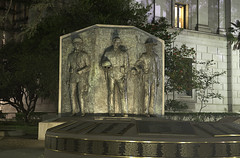 The Image of Officers Before (dcnelson1898) Tags: california city longexposure nightphotography night town memorial tripod police sacramento sheriff lawenforcement statecapitol centralvalley sacramentocounty californiahighwaypatrol californiapeaceofficersmemorial nikond750