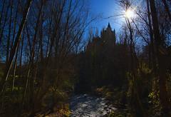 Alczar, Segovia. (Riccardo Nobile Photos ) Tags: travel sun tree nature water river spain nikon day erasmus roman colorfull ngc sunny front segovia alcazar nikkor wd castello castillo hdr castel spagna riccardo waterscape esn d600 nobile alcazr