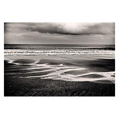 160210-016a (Steve Thearle) Tags: sea seascape beach mono coast sand fuji coastal isleofwight sandown iow 35mmf14 xe2 iowight