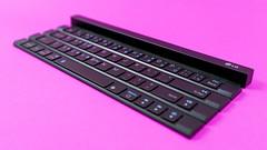 LG Rolly Keyboard (TechStage) Tags: pink black keyboard phone tastatur rosa lg smartphone rolly accessoire lgrollykeyboard rollykeyboard lgkeyboard