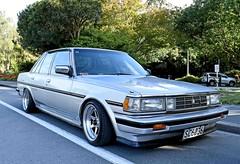 1988 Toyota Grande (stephen trinder) Tags: christchurch grande low 1988 toyota custom lowered christchurchnewzealand thecarsofchristchurch stephentrinder stephentrinderphotography