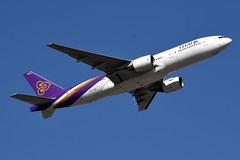 xxx 18 Thai Airways HS-TJB (Howard_Pulling) Tags: camera hongkong photo airport nikon photos picture february 2016 howardpulling d5100