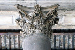Pantheon porch capital, Corinthian