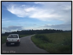 Virajpet (STV    ) Tags: sunset evening kerala karnataka virajpet maruti maruti800 kannur