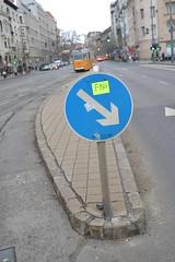 DSC_0508 (szekaljamania I DagonyaB) Tags: life city urban streetart art public car sign trash way photo neon tag low budapest perspective tram social fart subject fing villamos vros stricker tr srga matrica szemt mricz zsigmond postsign