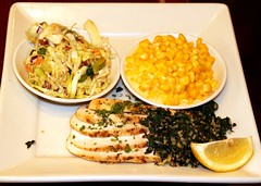 Roasted Chicken & Creamed Corn (Prayitno / Thank you for (10 millions +) views) Tags: chicken dinner menu lunch warm breast fine plate indoor tricolor dining kale coleslaw lawrys roasted tuscan carvery plated saut konomark qunoa