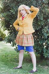 Cosplay: Hana Midorikawa (Cristian Muñoz Fotografias) Tags: chile school people anime canon photo foto cosplay prison fotos fotografia fotografo fotografias tecnica