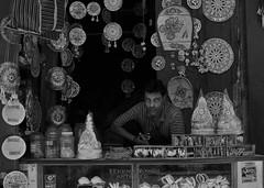 Shopkeeper (heenasinghtheartificer) Tags: street india photography varanasi shopkeeper