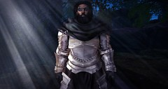 [ stoic ] ([ sithas ]) Tags: man black male beard blog sl fantasy secondlife armor dreads armored rp roleplay roleplaying darkskin platemail fullplate platearmor eyepach sithasslade silhouettewarfare thesanguinetree