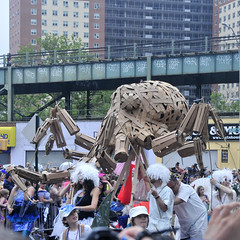 Octocardboard (Anders Magnusson) Tags: street nyc newyork coneyisland nikon parade cardboard octopus mermaid andersmagnusson