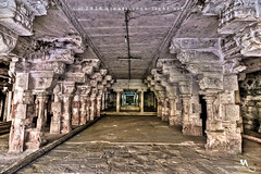 Varadharaja Perumal Temple, Kanchipuram (creati.vince) Tags: art architecture temple ancient interior craft carving tamilnadu kanchipuram rockcut cholas varadharajaperumal creativince