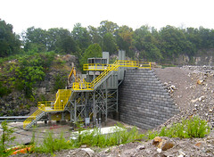 Redi-Rock_limestone-reinforced-commercial-BellConcrete-RogersGroupQuarry12 (redirockphotodatabase) Tags: limestone retainingwall redirock commercialapplications reinforcedwall bellconcrete tennesseeretainingwalls knoxvilleretainingwalls retainingwallsknoxville rogersgrouprockquarry
