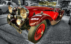 1934 Alvis Speed 20/25 Sports (AreKev) Tags: old uk england classic sports car museum speed photoshop vintage nikon sigma somerset international british motor 1020mm hdr touring alvis yeovil selectivecolour 2025 haynes motormuseum photomatixpro 1020mmf456exdchsm sparkford d7100 alvisspeed nearyeovil alvisspeed20 haynesinternationalmotormuseum nikond7100 1934alvisspeed2025sports alvisspeed2025sports