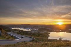 St. Johns (MightyBoggs23) Tags: sunset newfoundland landscape stjohns overlooking newfoundlandandlabrador