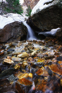 Adam's Canyon Waterfall