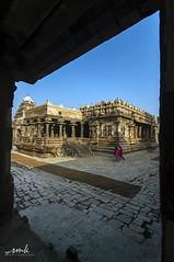 Darasuram near Kumbakonam (Yesmk Photography) Tags: india architecture temple unesco hindu tamilnadu cholas kumbakonam darasuram muthukumar yesmkphotography