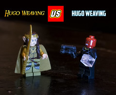 Hugo Weaving (Phenix Dark) Tags: celebrity lego vs minifig