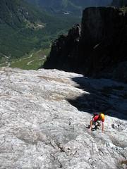 High Above Alder Flats (Dru!) Tags: canada rock bc britishcolumbia alpine mountaineering dug mapleridge scramble scrambling goldenears coastmountains edgepeak alderflats whitedyke