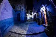 Chefchaouen. (Nona P.) Tags: light bleu maroc ruelle chefchaouen lumières