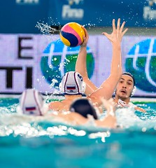 FINA Men's Water polo Olympic Games Qualifications Tournament 2016 - Trieste (ITA) (fina1908) Tags: blue italy white men fina ita trieste waterpolo olympicgames qualification 2016 pallanuoto tournament2016 7danielteoharirou