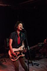 Carla Bozulich (Paul Patras) Tags: red bar edinburgh guitar live gig voice carla wee haunting eca bozulich