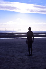 DSC_0419_00005 (kthomson987) Tags: sunset anthonygormley anotherplace crosbybeach