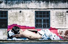 Good morning my love... (Luis Marina) Tags: street urban love wall walking pared paint today santander pintura cantabria grafitty walpaint gildwomansleep goobmorning