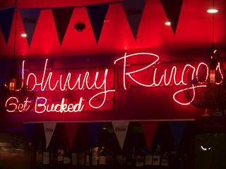"Brisbane, au ""Johnny Ringo's"""