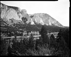chalk cliffs, hwy 162, colorado (mike thomas) Tags: film analog landscape chalk cliffs buenavista 400 vista 4x5 sheet rodinal edu ultra 135mm buena horseman rodenstock arista 45fa sironars