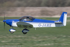 G-JAME - 2004 build Zenair CH601UL Zodiac, departing from Runway 26R at Barton (egcc) Tags: manchester barton zodiac microlight damp zenith lightroom cityairport zenair ch601 ch601ul egcb rotax912 gjame pfa162a14279 gcdfz
