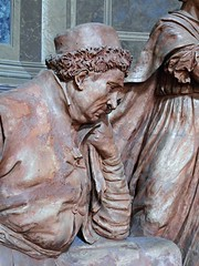"""Piet"" (about 1524) - eight terracotta figures, natural greatness, by Alfonso Lombardi (Ferrara 1497-Bologna 1537) - Saint Peter Cathedral at Bologna (* Karl *) Tags: italy terracotta bologna piet alfonsolombardi"