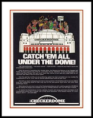 "The Checkerdome, 1979 (Cosmo's ""ART"" Gallery) Tags: sports ad stlouis arena missouri 1979 checkerdome"
