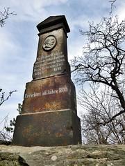 Bismarcksule Keulenberg, Sachsen (Andr-DD) Tags: statue germany deutschland saxony sachsen bismarck sule pulsnitz keulenberg oberlichtenau