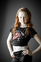 Sassy (dmacphoto) Tags: ginger sassy redhead tween