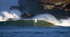 FERNANDO RIEGO / 7765DRL (Rafael Gonzlez de Riancho (Lunada) / Rafa Rianch) Tags: sea mer sports mar surf waves surfing olas cantabria deportes laisla ocano acantilados santamarina