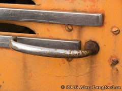 Truck Door Handle (Alan Langford) Tags: truck rust industrial oilfield