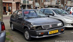 Mitsubishi Colt 1.5 GL 1988 (XBXG) Tags: auto old holland classic haarlem netherlands car japan japanese automobile 1988 nederland 15 voiture paysbas japon colt mitsubishi ancienne gl asiatique japonaise mitsubishicolt tk67dy