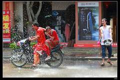 nEO_IMG_DP1U4087 (c0466art) Tags: new trip travel people wet water festival happy interesting scenery calendar buddha year chinese enjoy lucky mind april local wish cloth custom spill celebrate trandition 2016  city